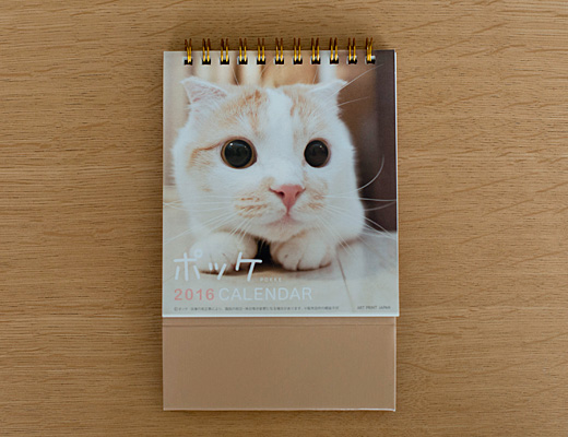 週めくりカレンダー